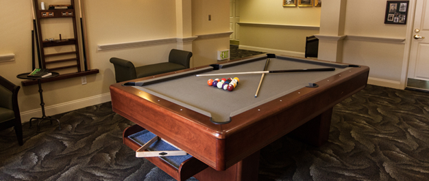 Claremont Place Assisted Living Billiards