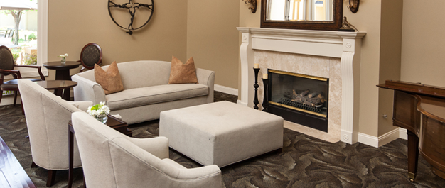 Claremont Place Assisted Living Fireplace