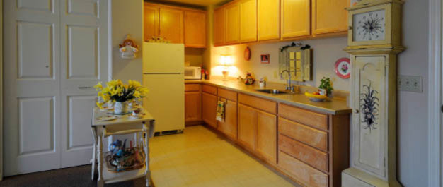 Kitchen Cypress Place Senior Living