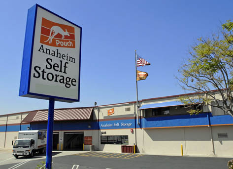 Building exterior Pouch Self Storage