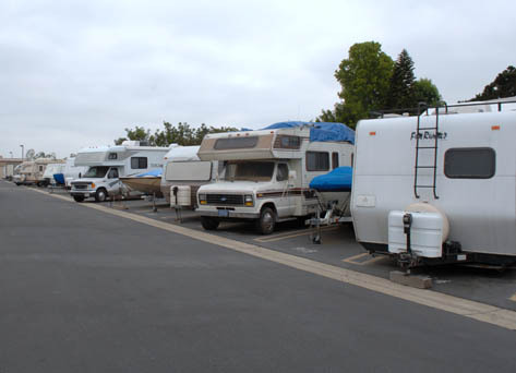 Rv parking Pouch Self Storage