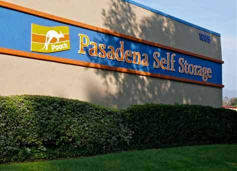 Pasadena office outside 12 14 09 Pouch Self Storage