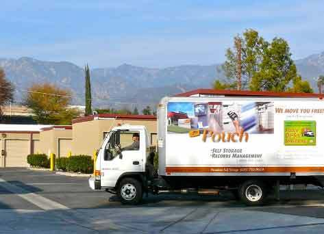 Pasadena office truck 12 14 09 Pouch Self Storage