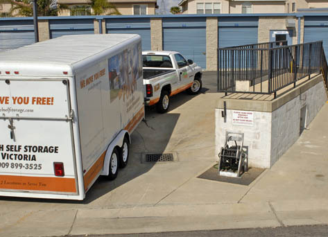 Moving truck Pouch Self Storage and RV Center