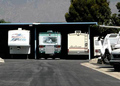 Rancho cucamonga boat Pouch Self Storage and RV Center