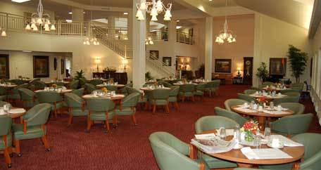 Assisted living mentor oh dining area Parker Place