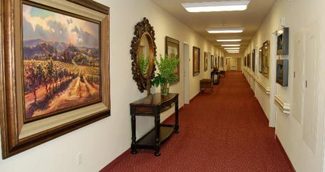 Hallway Mountain View Gardens