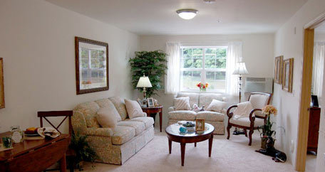Living room sierra vista senior Mountain View Gardens
