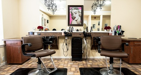Salon at The Bradley Gracious Retirement Living