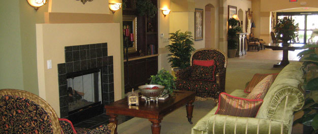 Lobby The Stratford Assisted Living