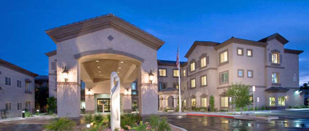 Building entry The Stratford Assisted Living