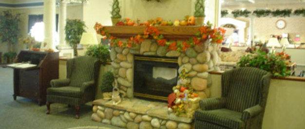 Vacaville ca fireplace resized Paramount House Senior Living