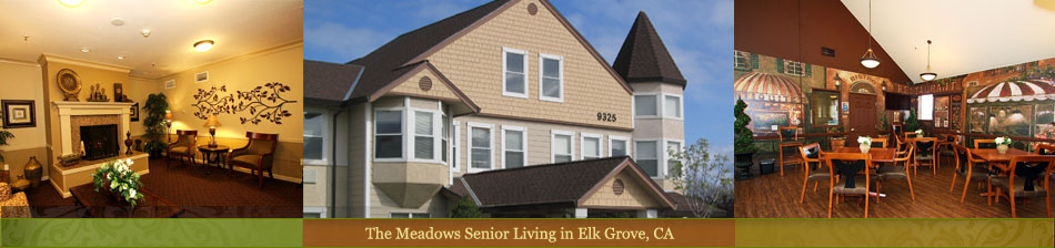senior living community in Elk Gove, CA