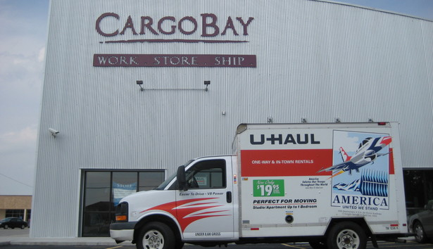 Uhaul 2 CargoBay Self Storage