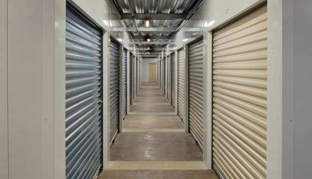 Storage corridor at Cargo Bay Hazelwood MO