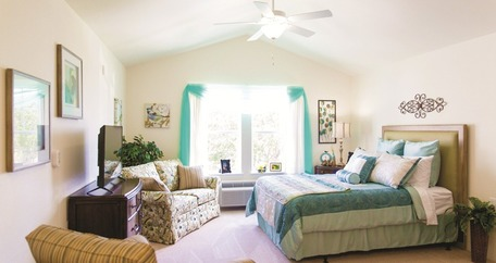 Bedroom teal