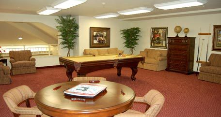 Activities room Carolina Estates