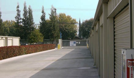 Self storage in Modesto.