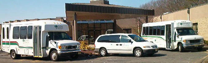 Bartley at Home retirement facility transportation services.