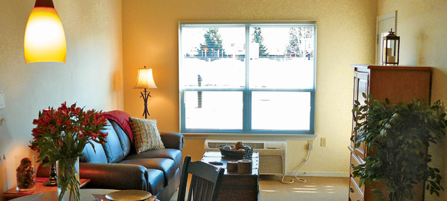 Beautiful senior living room Moran Vista