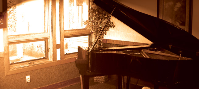 Beautiful piano shot SouthTowne Living Center