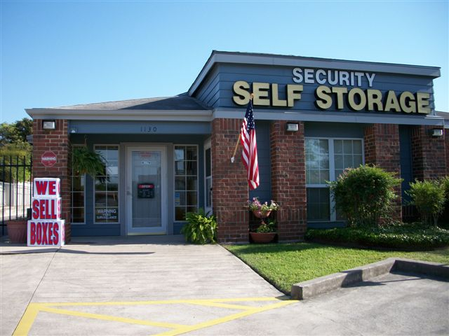 front store driveway entrance Security Self Storage