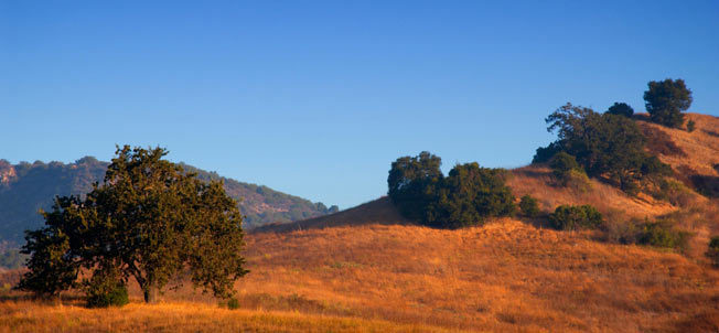 Simi valley california landscape
