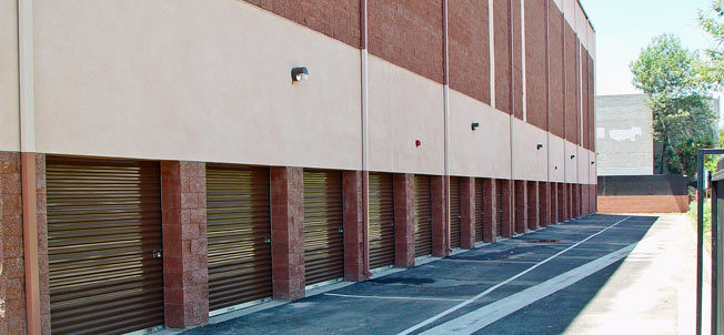 Pasadena california self storage units at Colorado Blvd.