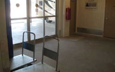 Handcarts provided Airport Self Storage