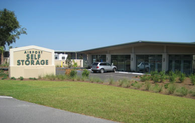 Our facility at Airport Self Storage in Hilton Head