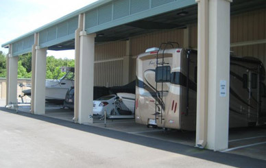 Rv boat vehicle Airport Self Storage