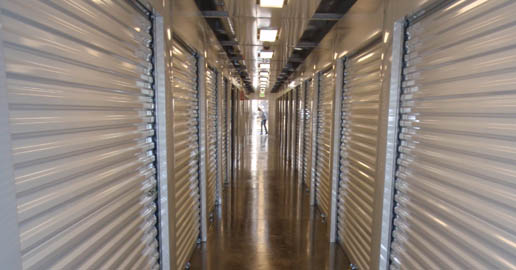 Indoor self storage in North Spokane at ABC Mini Storage