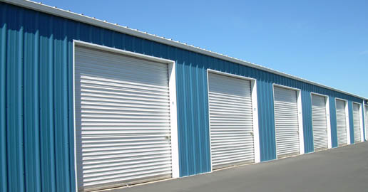Outdoor storage in Spokane WA at ABC Mini Storage.
