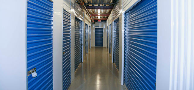 SoCal Self Storage units in Rancho santa margarita