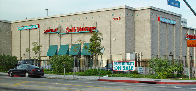 Mini storage in west la california at Sawtelle