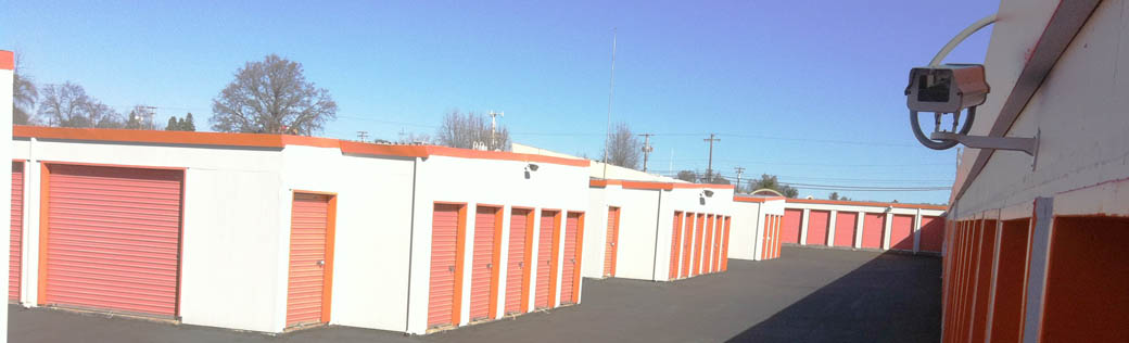 Feel secure at the self storage facility in Orangevale