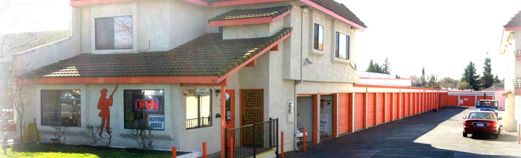 Welcome to self storage in Orangevale, CA
