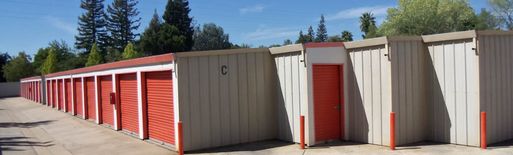 Folsom self storage offers large and small storage units