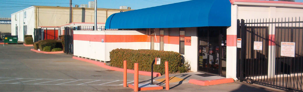 The front office at the self storage facility in Rancho Cordova.