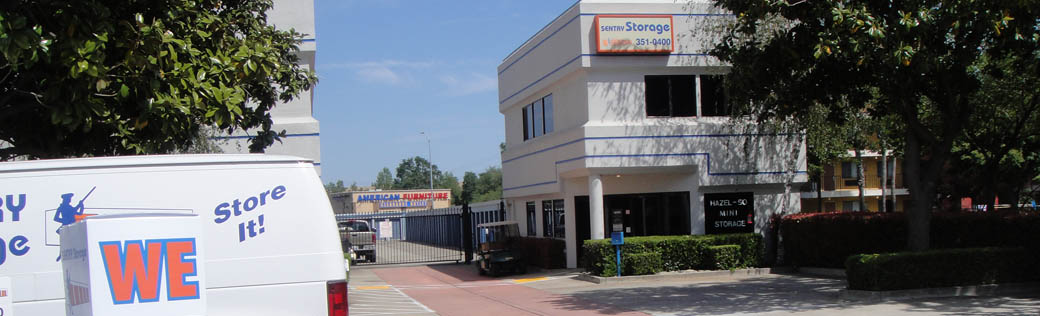 Self storage in Rancho Cordova is reliable and secure