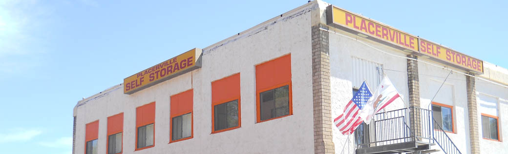 Visit the main office at the self storage facility in Placerville