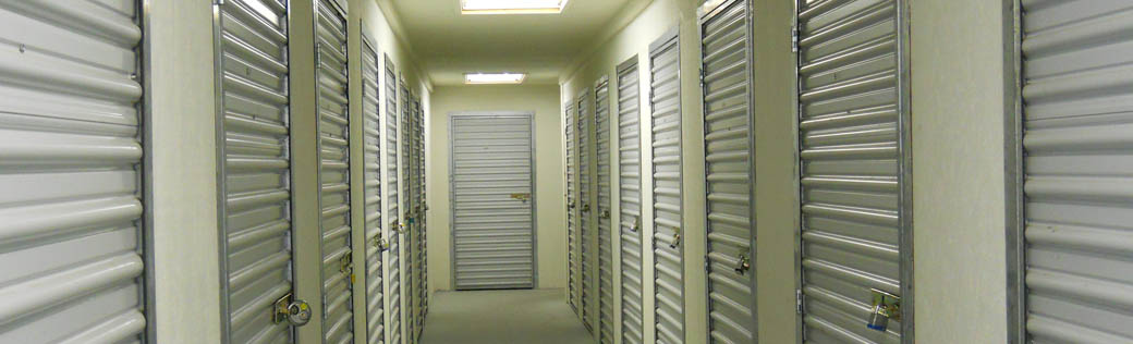 Small indoor storage units for rent in Placerville.