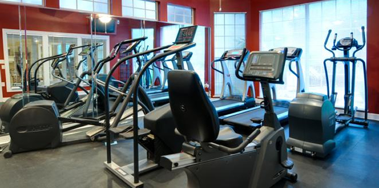 A fitness 2 slide Marquis at Ladera Vista