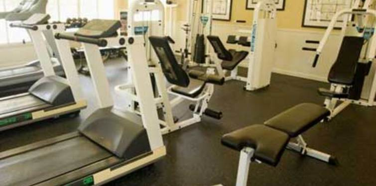 Community fitness center equipment