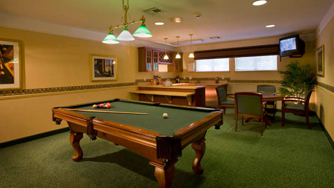 Canton billiards Waltonwood at Cherry Hill
