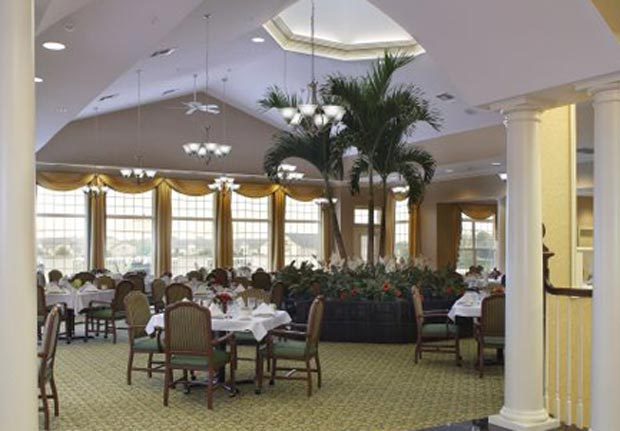 Interior Dining Room of Waltonwood at Lakeside