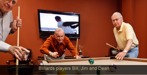 Billiards bill jim dean Lakeview at Josey Ranch