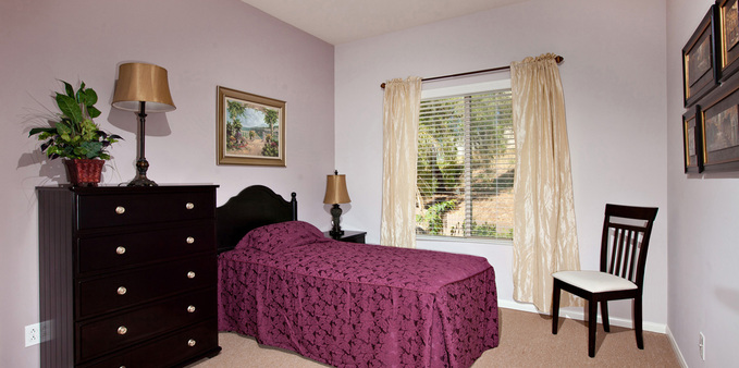 D unit private suit Plaza Village Senior Living