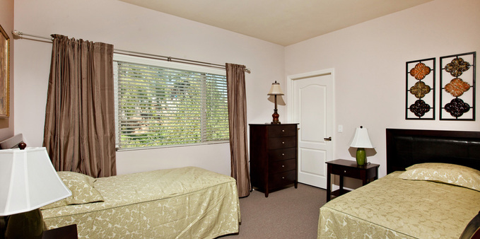 E unit shared room Plaza Village Senior Living