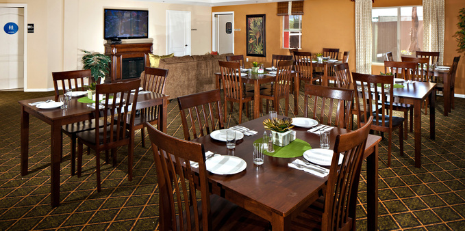 Mc dining room Plaza Village Senior Living